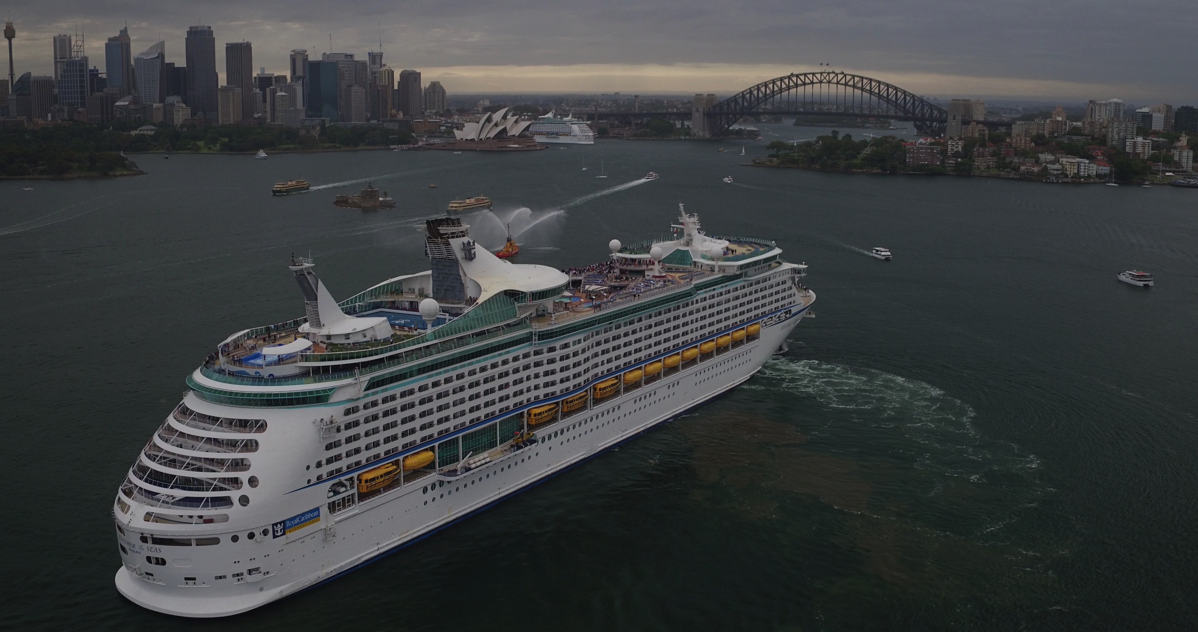 Australian Cruising News Page - Cruise ship movements sydney harbour