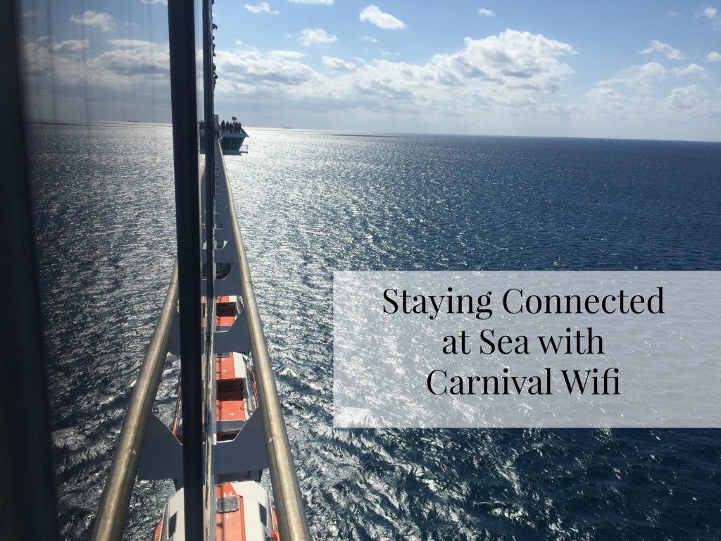 Staying Connected at Sea with Carnival Wifi 1024x768