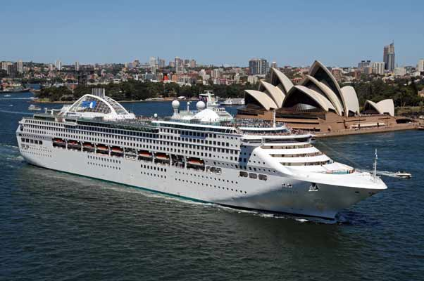 GOLDEN PRINCESS TO DEBUT IN MELBOURNE AS PRINCESS CRUISES EXPANDS - Where is the sea princess cruise ship now